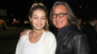 Gigi Hadid and her Dad, Mohamed