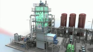 ¿Cómo guardar la energía renovable sobrante? Una empresa británica está experimentando con frío para almacenarlo en forma de gas líquido.