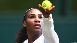 महिला टेनिसपटू सेरेना विल्यम्स