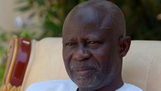 L'avocat Ousainou Darboe, célèbre opposant gambien, a été ministre des Affaires étrangères avant d'être nommé vice-président.
