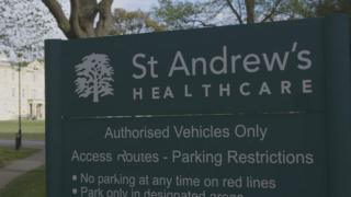 St Andrew's sign