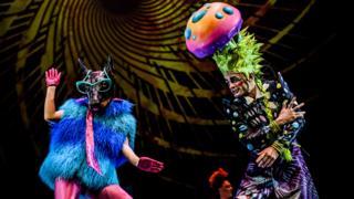 Show de Soda Stereo y Circo del Sol