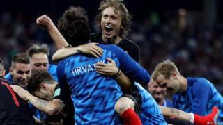 Croatia versus Schmeichel