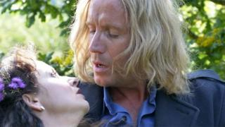 Promotional image for Under Milk Wood showing Rhys Ifans in the role of Captain Cat