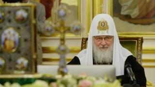 Патріарх Кирил на засіданні Синоду