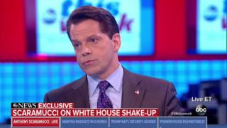 Anthony Scaramucci in interview with ABC News