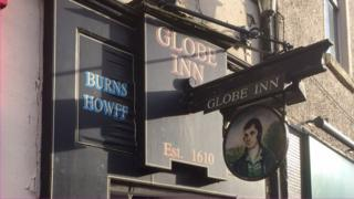 Globe Inn in Dumfries