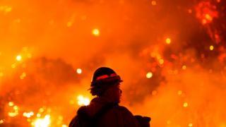 Fires raging in California