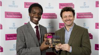 Kayo Chingonyi and Michael Sheen
