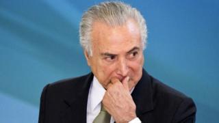 Michel Temer shugaban kasar Brazil