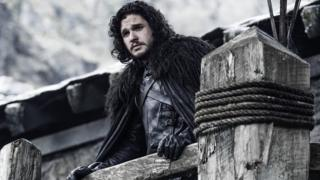 Kit Harrington as Jon Snow, in Game of Thrones