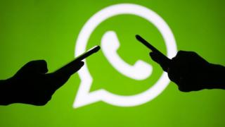 Igishusho kiranga porogaramu ya WhatsApp