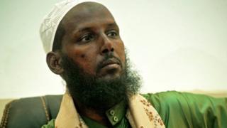 Mukhtar Robow mu kiganiro n'abanyamakuru mu mwaka uheze