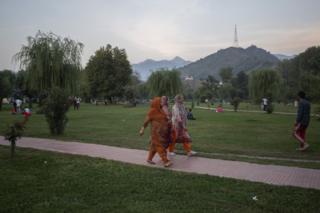 Srinagar park