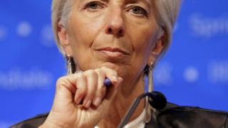 Christine Lagarde, managing director of the International Monetary Fund