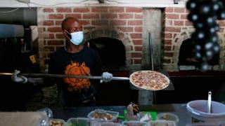 South African pizza restaurant in Pretoria