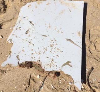 Potential piece of MH370 debris found off Mozambique