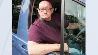 Driver Carl O'Brien