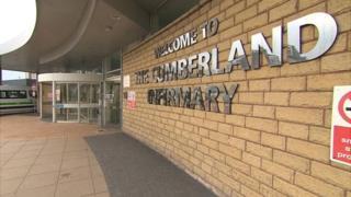 Cumberland Infirmary entrance