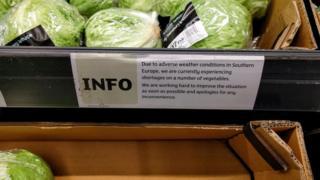 英國超市蔬菜限購