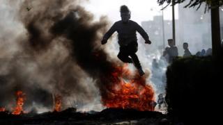 معظم إصابات الفلسطينيين سببها الغاز المسيل للدموع والرصاص المطاطي