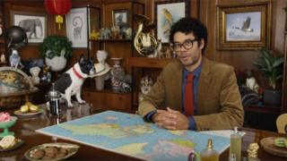 Comedian Richard Ayoade stars in HSBC's TV ad campaign