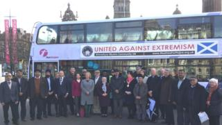 Scotland's Ahmadiyya Muslim community launches bus poster campaign promoting peace