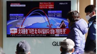 Misil Hwasong 14 - Intercontinental Norcoreano - detalles de su estructura , lanzamiento, imagenes y noticiase _98978817_hi043273870