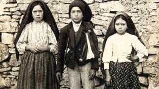 дети-пастухи Лусия, Францишку и Жансита