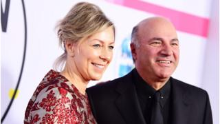 Linda (L) and Kevin O'Leary (R)