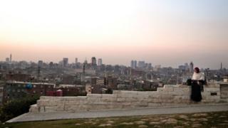 صورة لسماء القاهرة