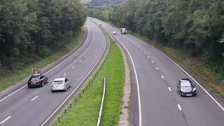A48 in Carmarthenshire