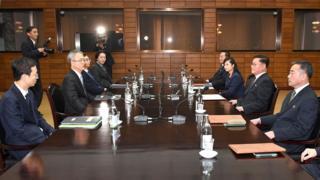韓朝代表於板門店對話(15/1/2018)