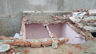 राजस्थान में आंधी से नुकसान
