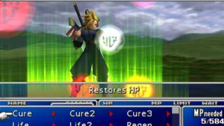Final Fantasy VII screenshot from the PS4 version
