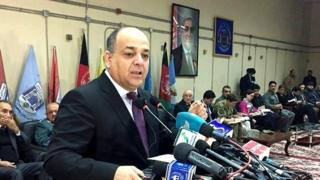 ویس برمک، وزیر داخله افغانستان