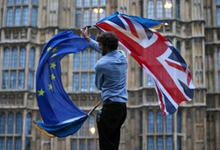 Bayraklarla brexit