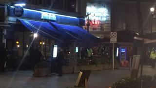 Leicester Square incident