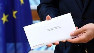 письмо Терезы Мэй в ЕС