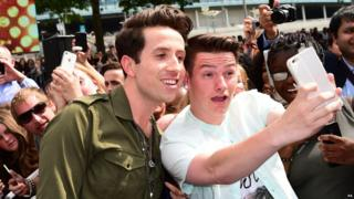 Nick Grimshaw at the London auditons