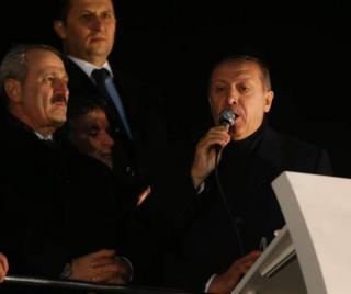 Eski Ekonomi Bakanı Zafer Çağlayan ve Cumhurbaşkanı Recep Tayyip Erdoğan