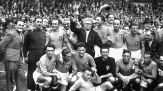 Italy ganó la Copa del Mundo en 1938.