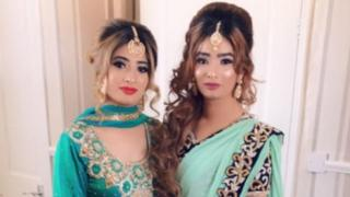 Nadia and Maria Rehman