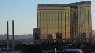 Mandalay Bay hotel in Las Vegas