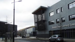 The Ebbw Vale learning zone