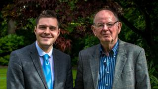 Ross Thomson and Tom Mason