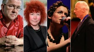 Ian McMillan, Joann Fletcher, Kate Rusby and David Moody