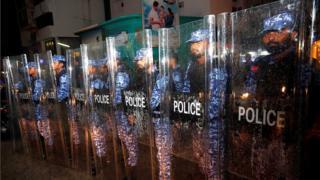 Мальдивская полиция