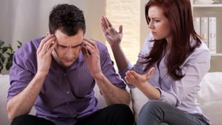 Ссорящаяся пара
