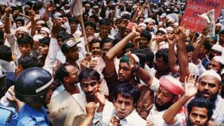 مسلمان ہجوم